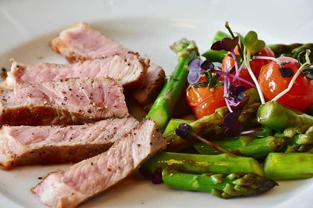 asparagus meat