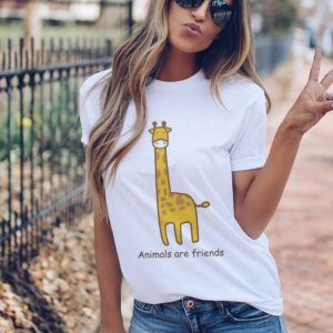 Animals Are Friends Women T Shirt