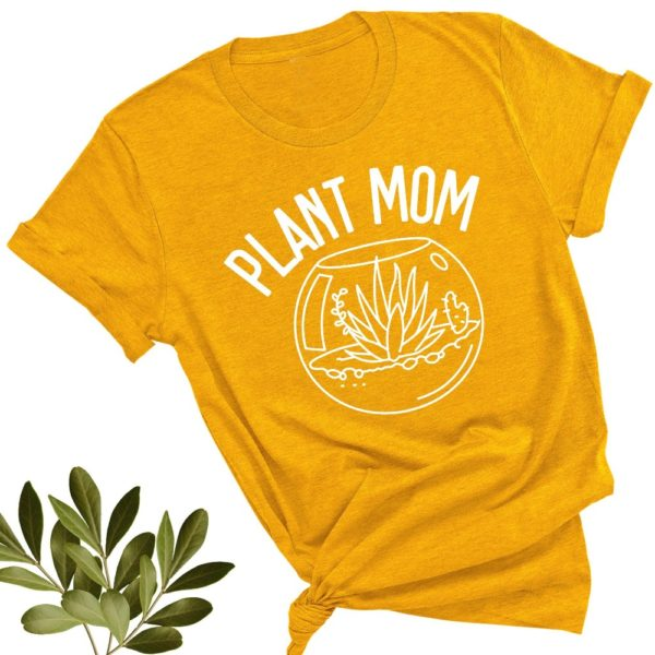 Plant Mom Vegan Herbivore Shirt