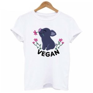 Eat Fruit not Friends Vegan T-Shirt for Women