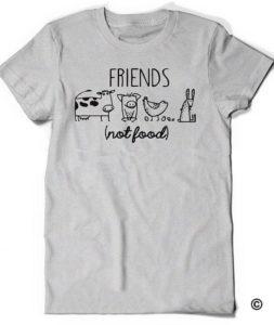 Vegan-Shirt-Vegetarian-T-Shirt-Tee-Mens-Womens-Ladies-Gift-Present-Animal-Lover-Statement-Tee-Activism